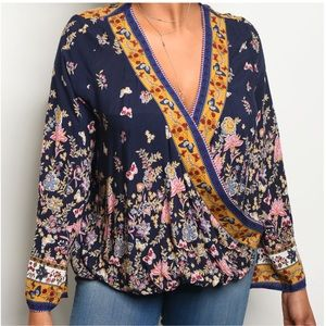 Tops - 5 for $100🎉HOST PICK🎉Gorgeous Floral Blouse